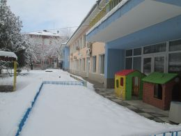Къщички в снега се гушат - ДГ Незабравка - Пловдив