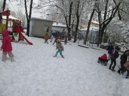 да стъпчем снега - ДГ Незабравка - Пловдив