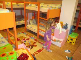Спално помещение на  група Мечо Пух - ДГ Незабравка - Пловдив